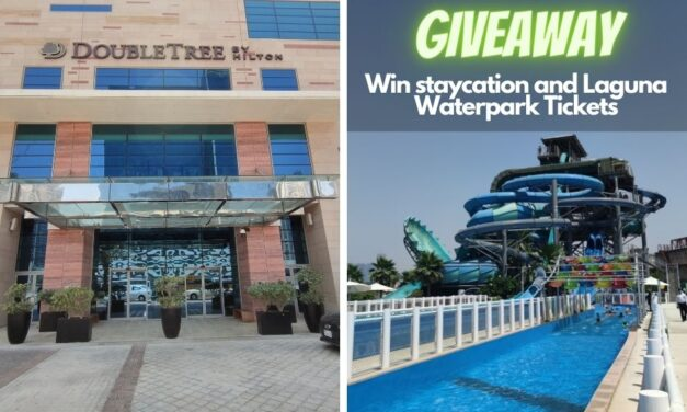 Enter Doubletree by Hilton Business Bay Giveaway and win a staycation for 2