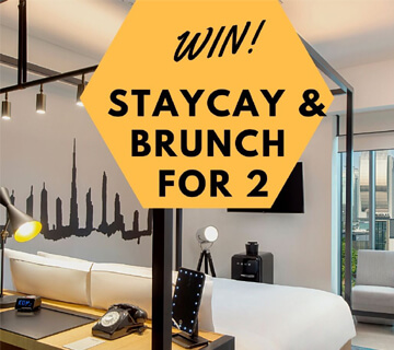 Giveaway of a Staycation and Brunch for 2 Worth 1100 AED at Canopy by Hilton Dubai Al Seef