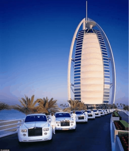 Outside View of Burj Al Arab