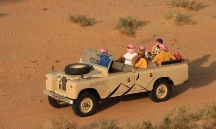 Overnight Desert Safari Dubai and Sunrise Hot Air Balloon ride with PLATINUM HERITAGE